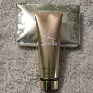 Victoria secret Bare Vanilla lotion with bag